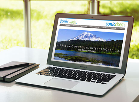 Web design for Ultrasonic Products International